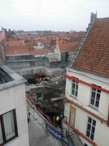Oude post, Brugge