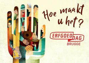Vijf redenen om naar Erfgoeddag Brugge te komen