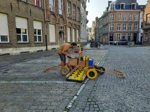 Voorlopige resultaten van georadarscan Sint-Jansplein, Brugge