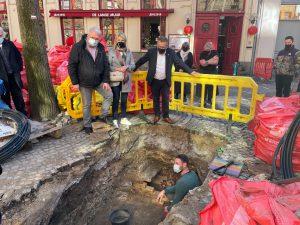 Archeologische vondst tijdens werken in de Sint-Amandsstraat (Brugge)
