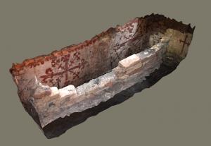 Grafkelder Sint-Amandskapel in 3D