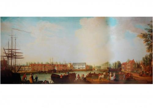 schilderij 1788 Pakhuizen